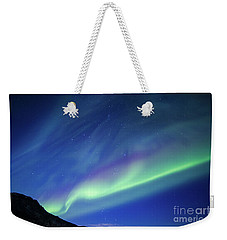 Weekender Tote Bag featuring the photograph Northern Lights 7 by Mariusz Czajkowski