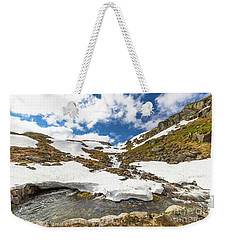 Norway Mountain Landscape Weekender Tote Bag