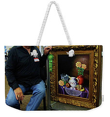 Weekender Tote Bag featuring the painting Nostalgic Vision  by Gene Gregory