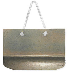 Not Quite Rothko - Twilight Silver Weekender Tote Bag