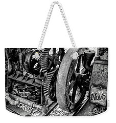 Novo Antique Gas Engine Weekender Tote Bag
