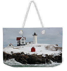 Nubble Point Maine Weekender Tote Bag