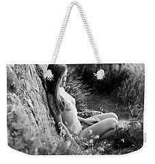 Nude Girl In The Nature Weekender Tote Bag