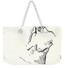 Nude Three Weekender Tote Bag
