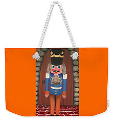 Weekender Tote Bag featuring the painting Nutcracker Sweet by Thomas Blood