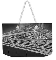 Weekender Tote Bag featuring the photograph Nyc West 57 St Pyramid by Susan Candelario