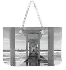 Weekender Tote Bag featuring the photograph Ocean Beach Pier by Ana V Ramirez