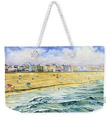 Ocean City Maryland Weekender Tote Bag by Melly Terpening