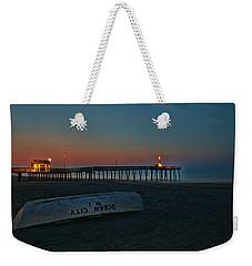 Ocean City  N J Sunrise Weekender Tote Bag
