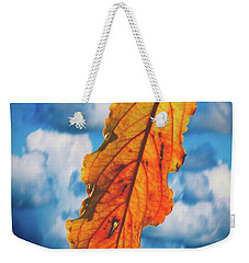 October Leaf B Fine Art Weekender Tote Bag