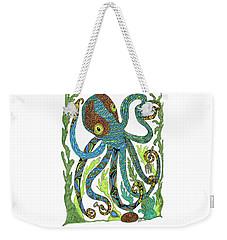 Octopus' Garden Weekender Tote Bag