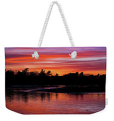 Odiorne Point Sunset Weekender Tote Bag