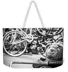 1 Of 8 - Surveillance Photo Weekender Tote Bag