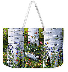 Old Aspen Grove Weekender Tote Bag