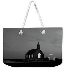 Old Countryside Church In Iceland Weekender Tote Bag by Joe Belanger