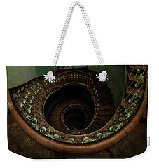 Old Forgotten Spiral Staircase Weekender Tote Bag by Jaroslaw Blaminsky