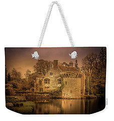 Weekender Tote Bag featuring the photograph Old Scotney Castle by Ryan Photography