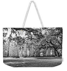 Old Sheldon Church - Tree Canopy Weekender Tote Bag by Scott Hansen
