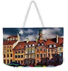 Old Town In Warsaw #8 Weekender Tote Bag by Aleksander Rotner