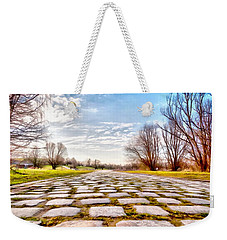 Weekender Tote Bag featuring the photograph Olimpia Park - Munich by Sergey Simanovsky