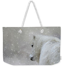 On A Cold Winter Day Weekender Tote Bag