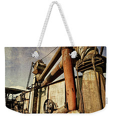 On The Farm Weekender Tote Bag by Michelle Calkins