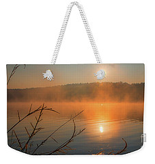 One Autumn Day At Ognyanovo Dam Weekender Tote Bag by Jivko Nakev