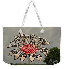 One Way Weekender Tote Bag