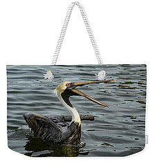 Weekender Tote Bag featuring the photograph Open Wide by Jean Noren