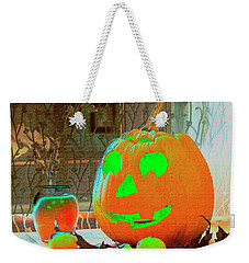 Orange Halloween Decoration Weekender Tote Bag