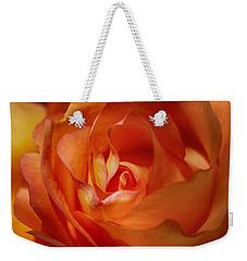 Orange Passion Weekender Tote Bag