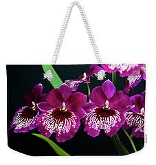 Orchid Miltonia Weekender Tote Bag by Lana Enderle