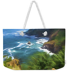 Oregon Coast Weekender Tote Bag