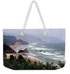 Oregon Coastline Weekender Tote Bag
