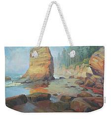 Otter Rock Beach Weekender Tote Bag