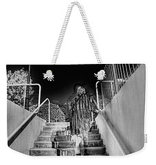 Out Of Phase Weekender Tote Bag by Andy Lawless
