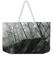 Weekender Tote Bag featuring the photograph Out Of The Rocks by Ellen Levinson