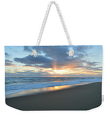 Weekender Tote Bag featuring the photograph Outer Banks Sunrise  by Barbara Ann Bell