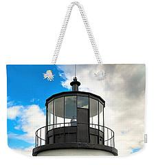 Owl's Head Lighthouse Weekender Tote Bag