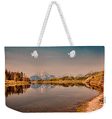 Oxbow Bend Weekender Tote Bag