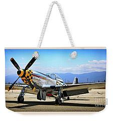 P-51 Mustang Kimberley Kaye Weekender Tote Bag