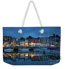 Weekender Tote Bag featuring the photograph Padstow Evening by Brian Jannsen