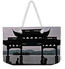 Pagoda At Dusk Weekender Tote Bag