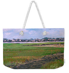 New England Shore Weekender Tote Bag