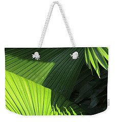 Palm Patterns Weekender Tote Bag