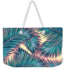 Palm Trees  Weekender Tote Bag by Mark Ashkenazi