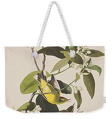 Palm Warbler Weekender Tote Bag by John James Audubon