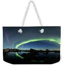 Panoramic Aurora Weekender Tote Bag