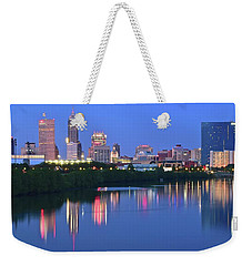 Panoramic Indianapolis Weekender Tote Bag