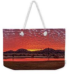 Panoramic Sunrise Weekender Tote Bag by Robert Bales